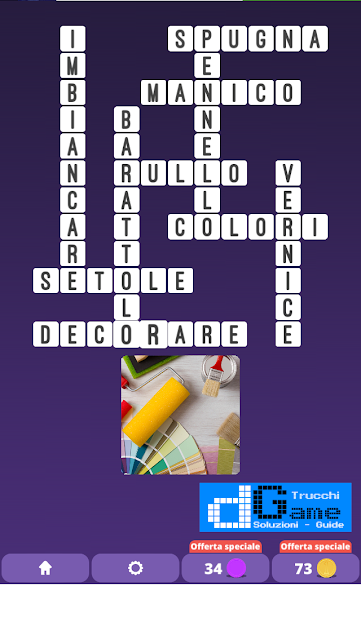 Soluzioni One Clue Crossword livello 15 schemi 9 (Cruciverba illustrato)  | Parole e foto