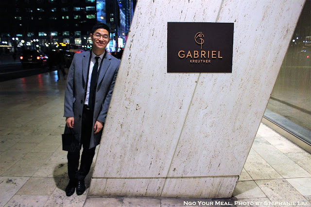 Jon at Gabriel Kreuther in New York City