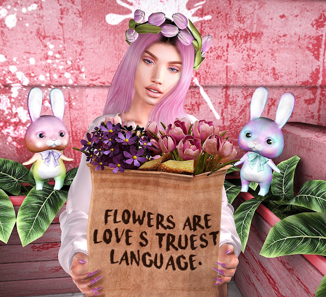 Flowers are...