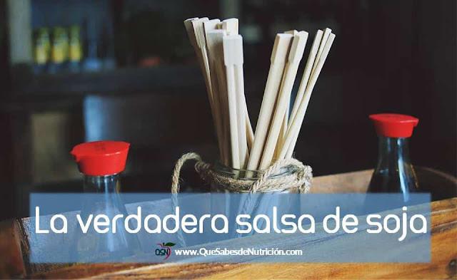 QSN: Distinguir los tipos de salsa de soja