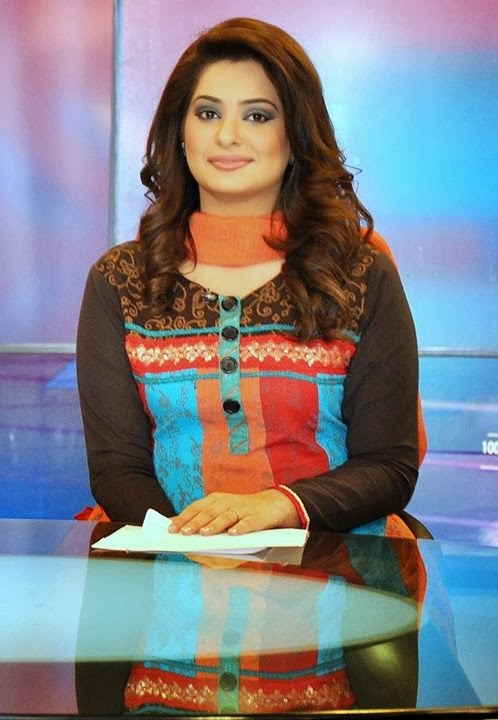 Pakistani news caster Iqra Shahzad
