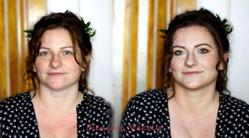 Naturalna Panna Młoda - makijaż ślubny i makijaż okolicznościowy