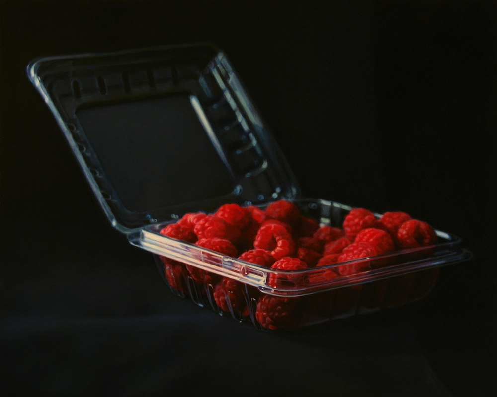12-Late-Raspberries-Pierre-Raby-Urban-Landscapes-and-Still-Life-Realistic-Paintings-www-designstack-co
