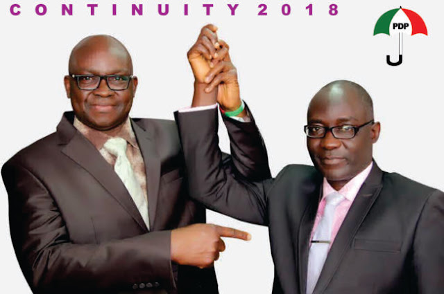 #EkitiDecides2018: PDP's Candidate Raises Alarm As APC's Fayemi Takes Early Lead