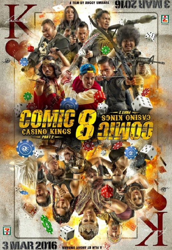 Potensi Comic 8 : Casino Kings Part 2 Rajai Box Office Indonesia, Film arahan Anggy Umbara