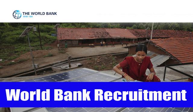 World Bank Recruitment 2017 worldbank.org Apply Online Form