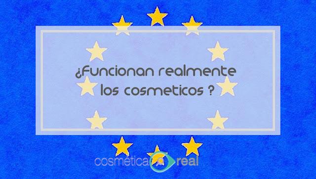 ¿Funcionan realmente los cosméticos?
