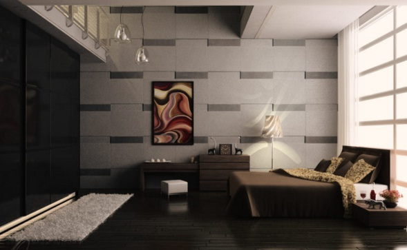 Luxury Bedroom Minimalist Design with 2 Floors