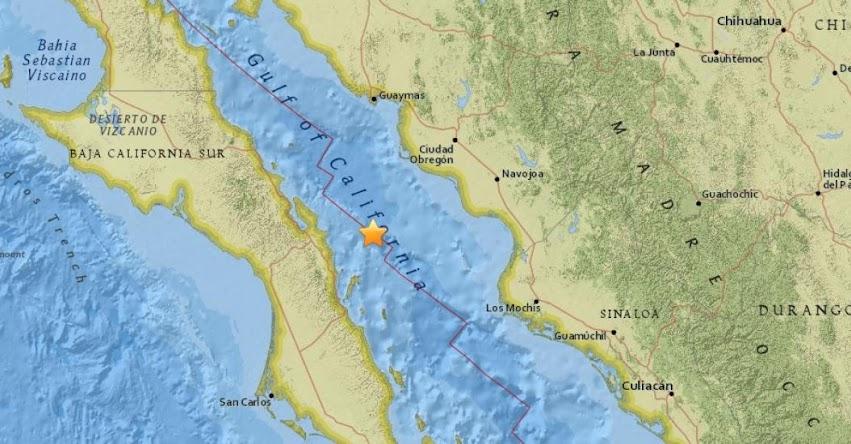 TERREMOTO EN MÉXICO: Sismo de magnitud 6.5 (Hoy Viernes 19 Enero 2018) Temblor Epicentro Loreto - Baja California - USGS - SSN - www.ssn.unam.mx
