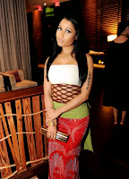 Outfit de Nicki Minaj En After Party