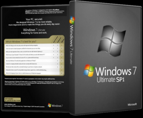 Windows 7 Ultimate SP1 x64 Pre-Activated (Full Version ...