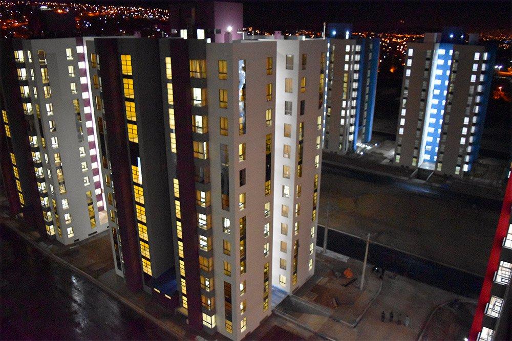 Villa Olímpica quedó a punto con una inversión de Bs 128 millones / MINISTERIO DEPORTES