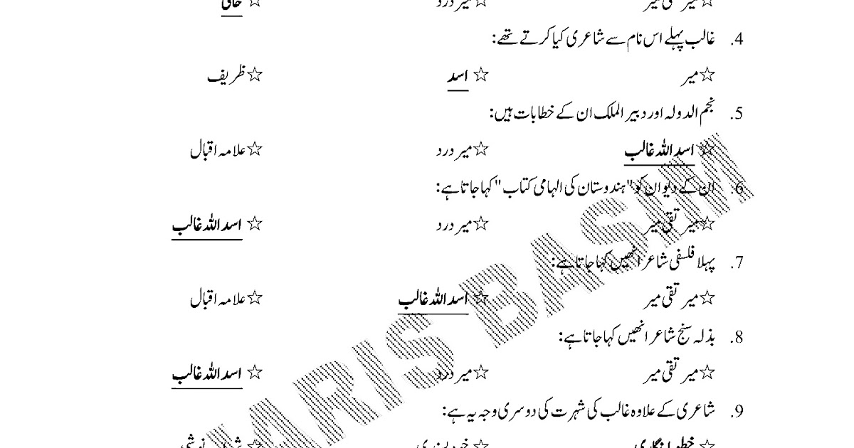 Education Is The Key To Success: Urdu (Compulsory) For HSC