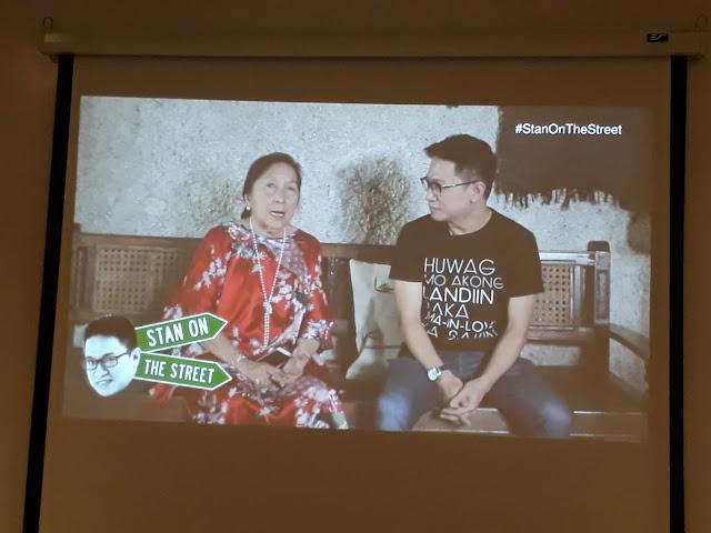 Stanley Chi interviews Solita 'Mareng Winnie' Monsod.