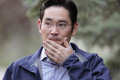 Samsung Electronics Vice Chairman Lee Jae-yong arrested