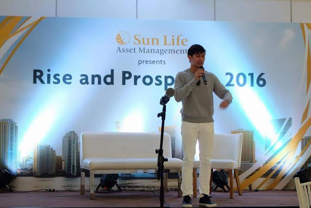 To help spread the word about the Sun Life Prosperity Card and to encourage more people to invest, SLAMCI's financial literacy advocate Matteo Guidicelli will be spearheading the multi-media campaign.
