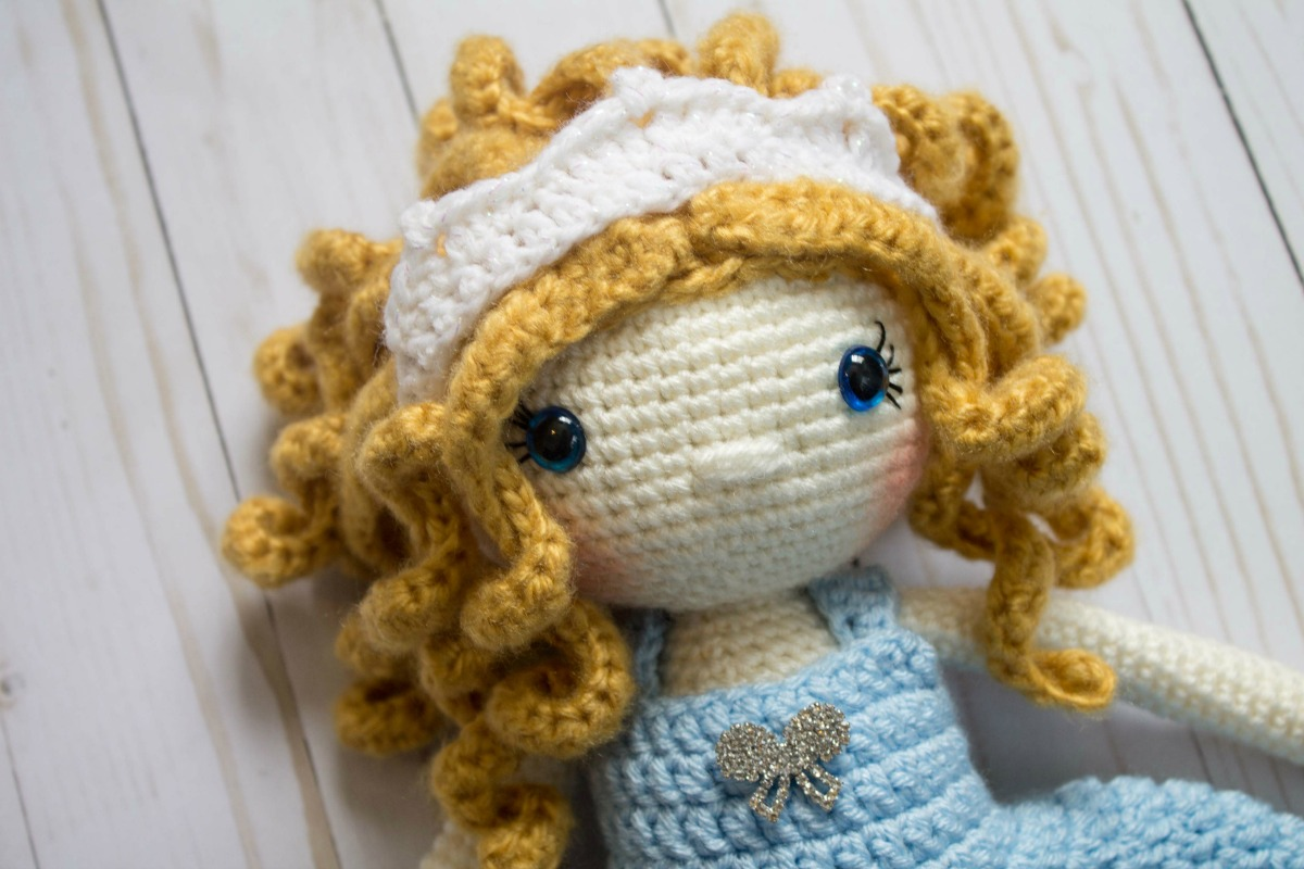 Amigurumi Dress-up Doll | HappyBerry | 800x1200