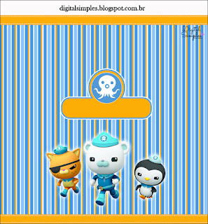 The Octonauts Free Printable  Labels.