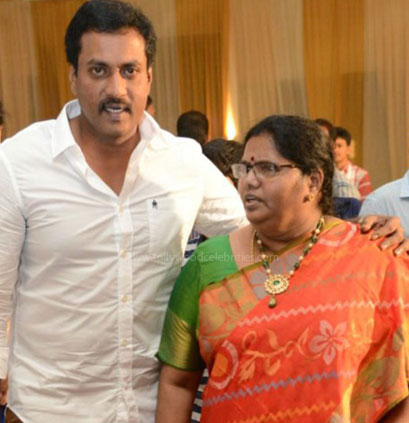 Sunil and his wife: