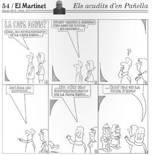 Els acudits d'en Pañella, El Martinet nº 271