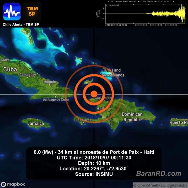 Van 11 muertos y 100 heridos tras terremoto de 5,9 en Haití