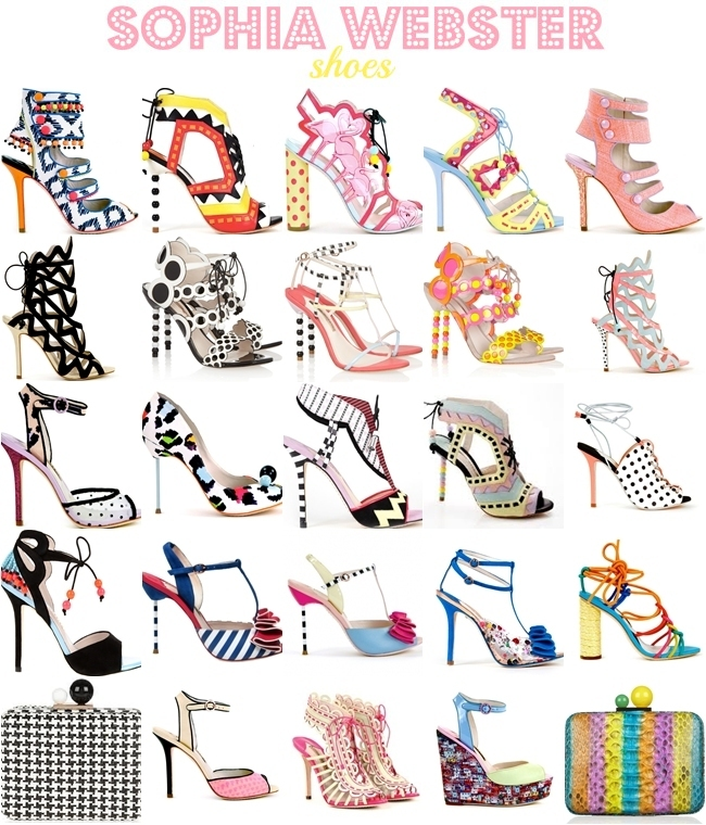 shoe designer Sophia Webster best designs