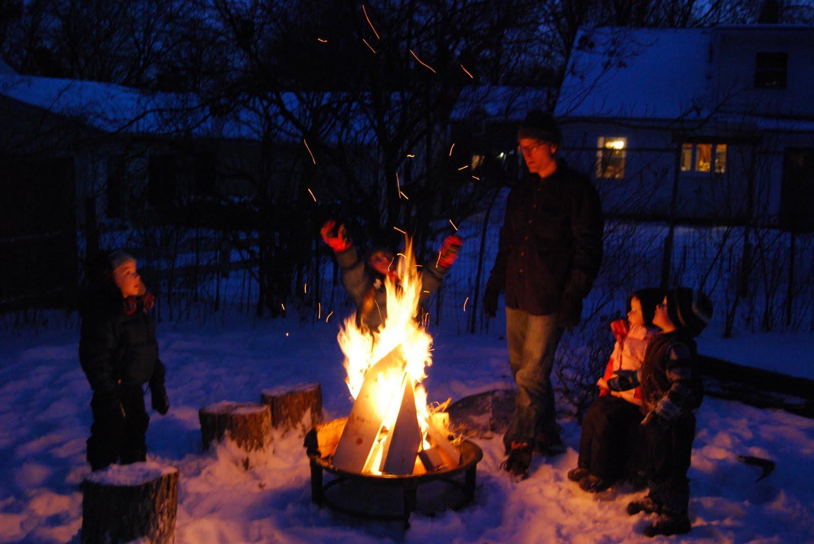sfmangos winter fire. Black Bedroom Furniture Sets. Home Design Ideas