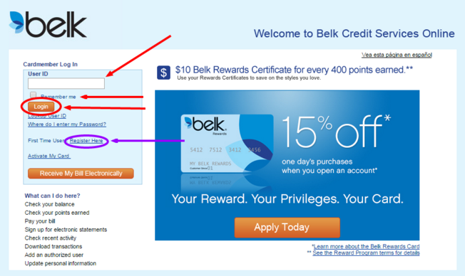 Tell us how we're doing. Belks Credit Card Login Belk Com Manage My Account And Payment Login My Page