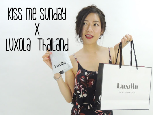 SWATCHES & REVIEW : Luxola Thailand with Promo code