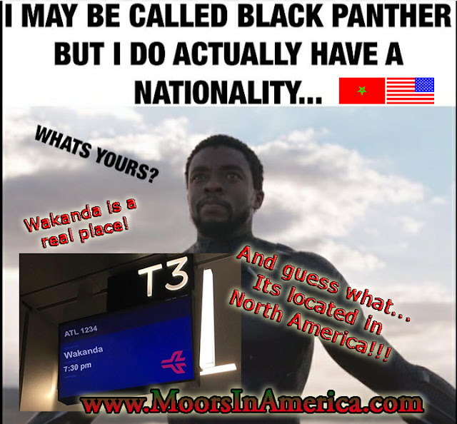 what is your nationality black panther film Wakanda America