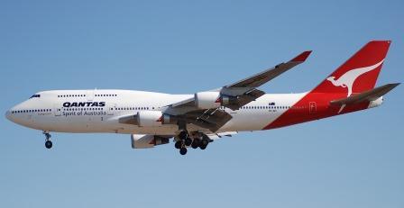 pesawat Boeing 747 pesawat jet turbo terbesar di dunia