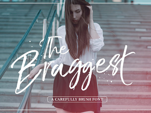 The Braggest Script Brush Font Free Download