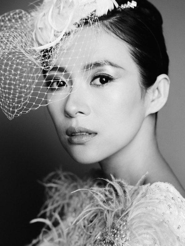 Zhang Ziyi by Mario Testino for Vogue China