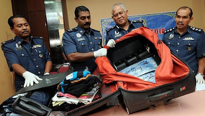 Meth bust at a Malaysian airport