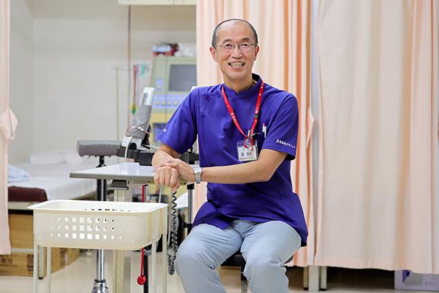 ▲医療法人創生会 真岡西部クリニック 院長 趙達来(ちょう・たつらい)氏