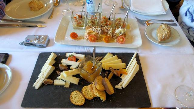 Vorspeise im Restaurant Parador Gran Canaria (C) privat