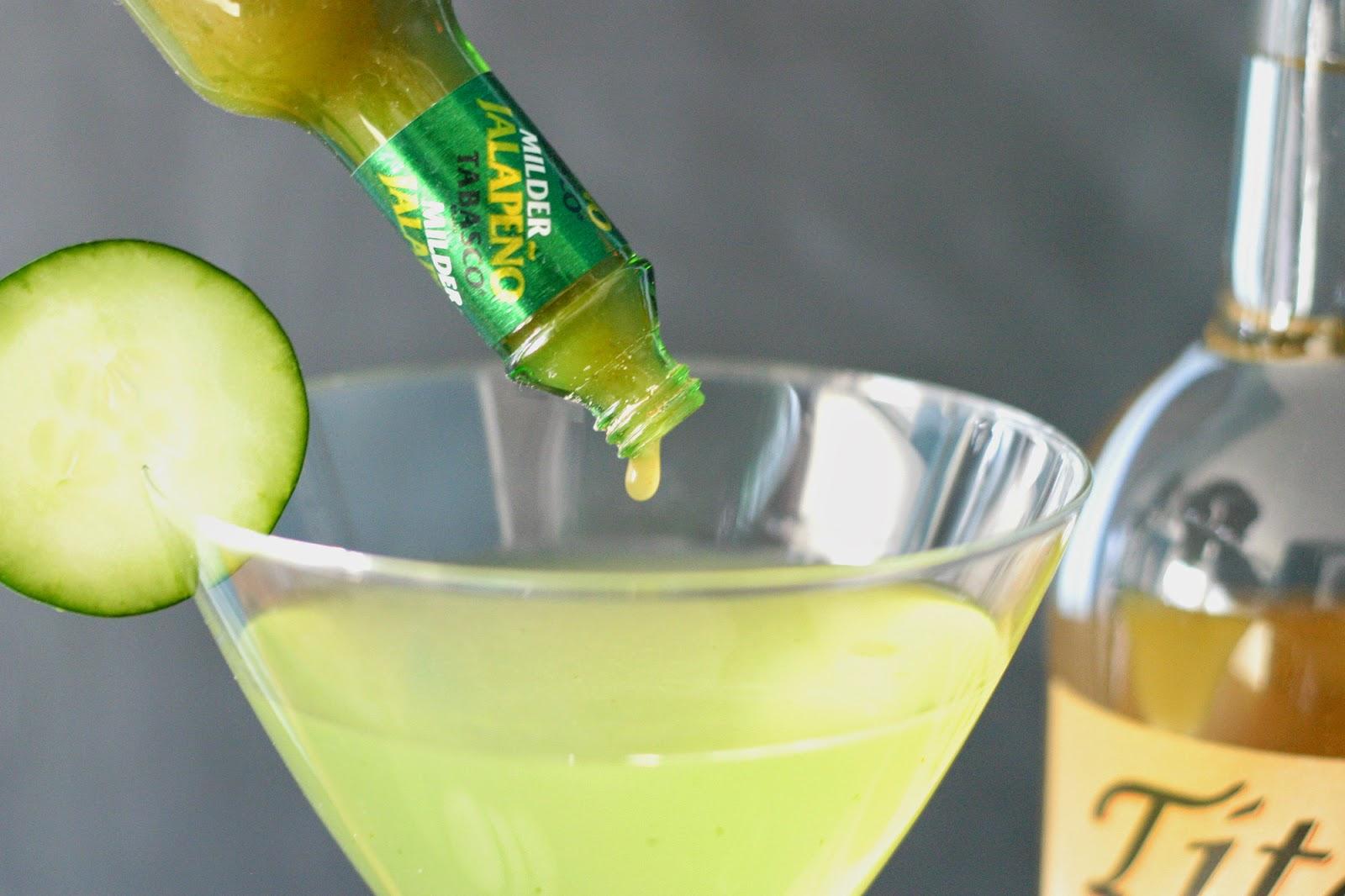 Tito's Cucumber Martini