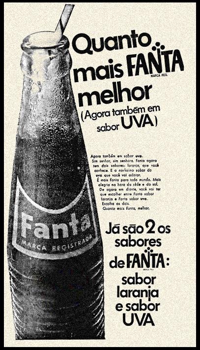 Campanha da Fanta em lançamento do seu refrigerante sabor uva