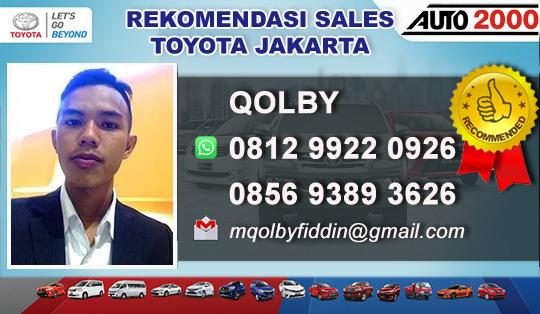 Rekomendasi Sales Toyota Jakarta 2019