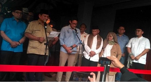 Prabowo Berbelasungkawa Atas Meninggalnya Sejumlah Massa Aksi