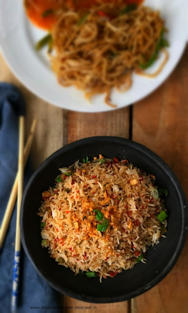 Indochinese fried rice