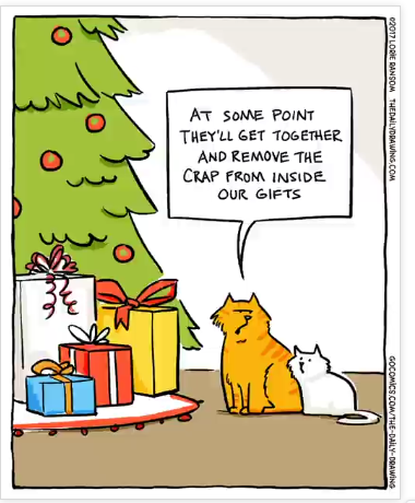 Mystery Fanfare Cartoon Of The Day Cat Christmas Presents Looking for christmas tree coloring pages this holiday season? mystery fanfare cartoon of the day