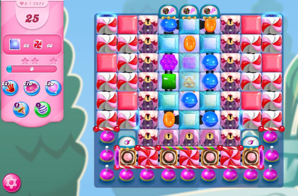 Candy Crush Saga level 7571