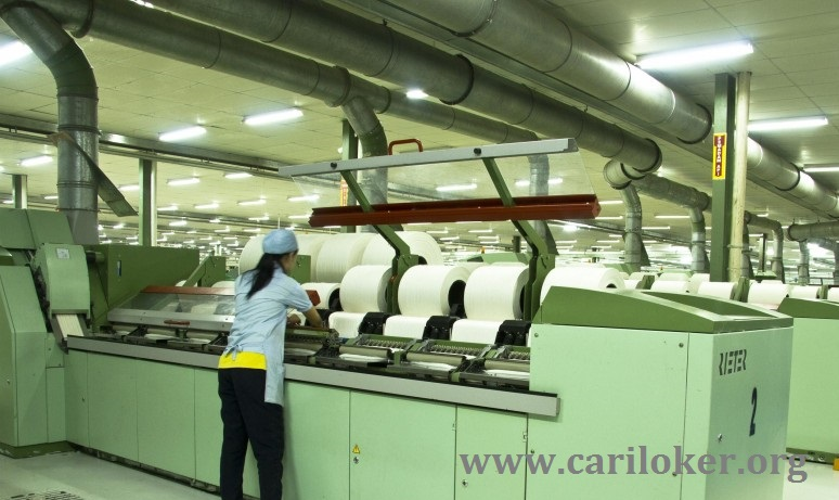 Lowongan Kerja PT Indah Jaya Textil Industri Terbaru Operator Produksi (TANGERANG)
