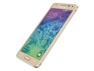 Мобильный телефон Samsung Galaxy Alpha SM-G850F 32Gb Gold