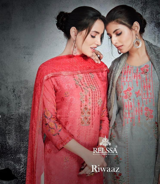 Relssa Riwaaz Salwar kameez latest Design wholesale