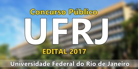 Apostila Concurso Público da UFRJ 2017 GRATIS