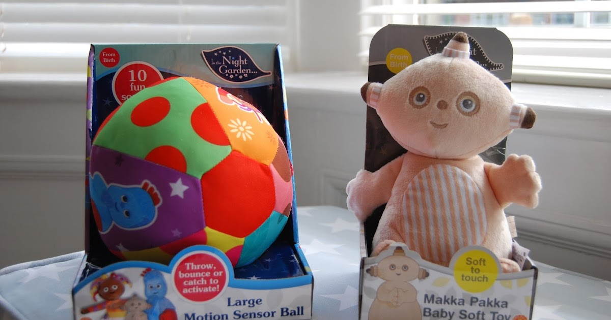 Motion Sensor Ball Baby Toy In The Night Garden Large Soft Sounds Throw Bounce
