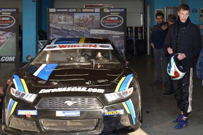 Kvyat did try his hand at NASCAR