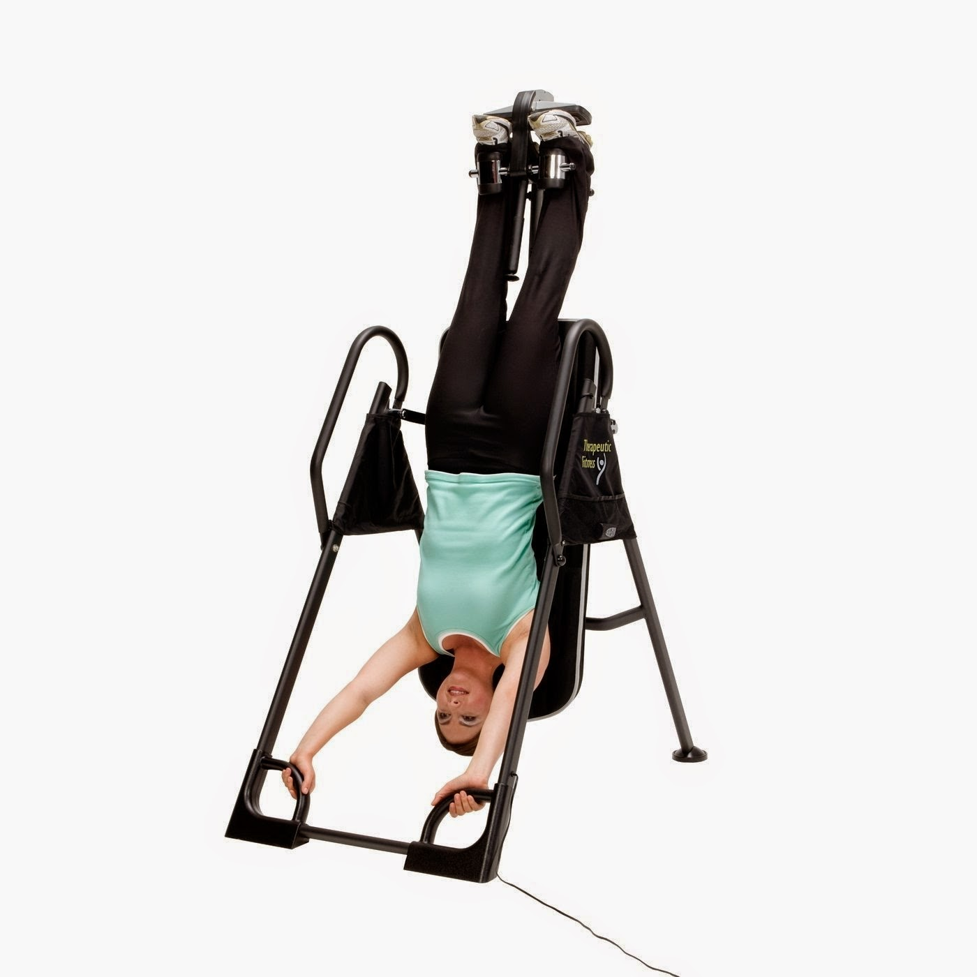 Inverting to a full 180 degrees on an inversion table